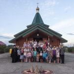 Всенощное бдение в храме преподобного Сергия Радонежского с. Кошели